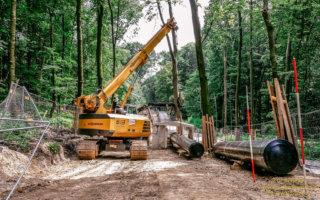 Pipeline Aaper Wald